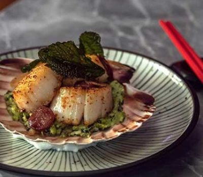 Tattu Restaurant Scallops
